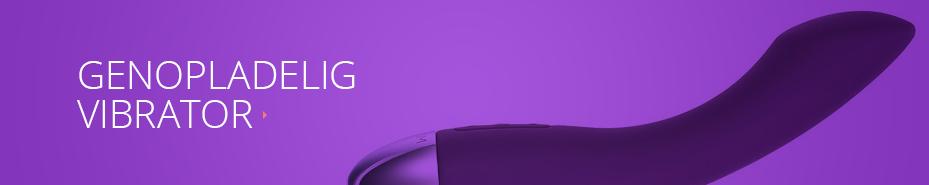 Opladelig-vibrator